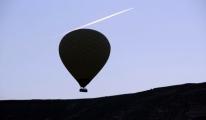 Kapadokya'da Turistlerin Balon Keyfi