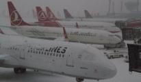 Kar Havayolu Şirketlerini Vurdu. Oteller Doldu Taştı