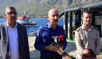Karaismailoğlu, yangın açıklaması#video