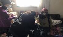 Kardan yolu kapanan hastasının yardımına sağlıkçılar yetişti
