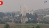 Karkamış Sınır Kapısı'nın Suriye Tarafında Büyük Patlama