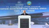 Kayseri Havalimanı Yeni Terminal Binası Temel Atma(video)