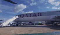 Katar Uçağı Sudan'a Zorunlu İniş Yaptı