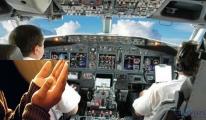 Kaza olması için dua edince uçaktan atıldı!