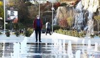 Keçiören'in renk cümbüşü:Türk dünyası su ve göl meydanı