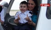 Kerem'in Pilot Olma Hayali Gerçekleşti