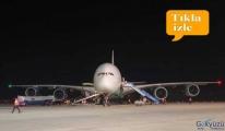 Kime niyet, kime kısmet A380 tipi uçak, Dalaman'a geldi!