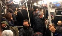 Kirazlı-Yenikapı Metrosu'nda yine aynı görüntü
