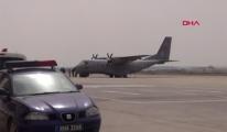 #KKTC Ercan Havalimanı'nda uçuşlar durdu#video