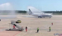 Köln'den kalkan Anadolu Jet uçağı