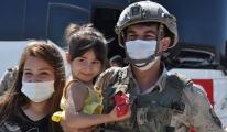 Komandolar dualarla Suriye'ye uğurlandı#video