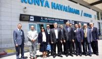 Konya Havalimanında Aralık'ta 93 Bin 412 Yolcuya Hizmet Verildi