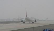 Konya'da Hava Ulaşımına Sis Engeli