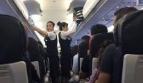 THY Kopenhag-İstanbul uçağı geri döndü