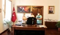 Körfez Sportif Havacılık Kulübü Derneği'nden Kaymakam Ünsal'a ziyaret