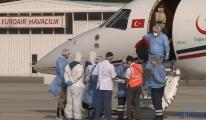 Bu gece Koronavirüs hastaları Türkiye'ye nakledilecek