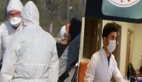 Koronavirüsü yenen doktor görevine döndü(video)