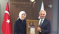 Kotil Büyükelçi Kavakçı'yı ağırladı