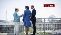 Kraliyet Çiftinden Almanya'ya İlk Ziyaret