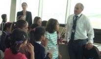 Küçük Pilotlar Elazığ Havalimanı'nı Gezdi