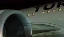 Kuş Sürüsüne Çarpan THY Uçağında Panik!