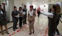 Kuveyt Air çalışanından Çelebi personeline evlilik teklifi!