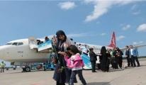 Kuveyt'ten Samsun Havalimanı'na İlk Uçak İndi