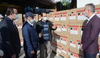Kuveytlilerden 700 gıda paketi desteği(video)