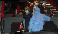 Kuveyt'ten getirilen 99 kişi, Çanakkale'de