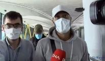 Lewis Baker, Türkiye'ye geldi(video)