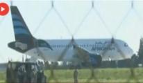 Libya Uçağı Kaçırlıdı..