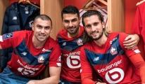 Lille, Burak Yılmaz ve Zeki Çelik'in golleriyle kazandı