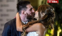 Lionel Messi ve Antonella Roccuzo Evlendi video