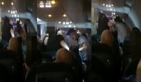 Londra Türkiye uçağında 'ırkçılık' kavgası