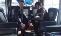 Luiz Gustavo Sabiha Gökçen Havalimanı'na geldi...