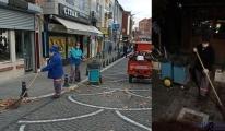 Lüleburgaz'ı sokak sokak süpürüyorlar