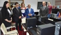 Makedonya Sivil Havacılık Ajansı'na Teknik Donanım Desteği