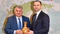 Makedonya Ulaştırma Bakanı'ndan Ekşi'ye Ziyaret