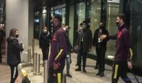 Manchester United, İstanbul'a geldi(video)