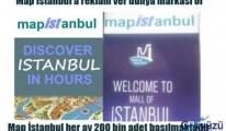 Map İstanbul Atatürk Havalimanında Ücretsiz Dağıtılıyor