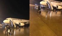Mardin Havalimanı'nda utandıran görüntü!