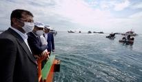 Marmara Denizi'nde müsilaj temizliği başladı#video