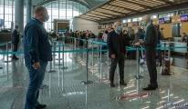Maskesiz havalimanı'nda uğurlama ve karşılama yapılmayacak