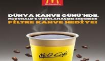 McDonald's'tan Kahve Günü'nde bedava kahve!