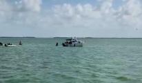 Meksika'da Cessna 206 tipi uçak düştü(video)