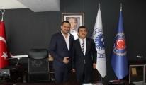 MHP Adayı Erdem Karakoç'tan Hava-İş'e ziyaret