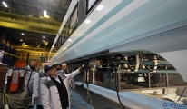 video Milli elektrikli tren için ortak çalışma