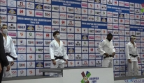 Milli judocu Muhammed Mustafa Koç'tan bronz madalya