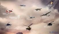 Milli projeler bir bir gökyüzünde