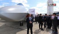 Milli savaş uçağı ilk kez Paris'te tanıtıldı video